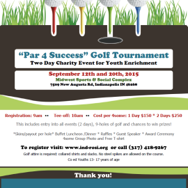 """Par 4 Success"" Golf Tournament 